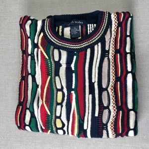 NORTH WALES Men's Coogie Style Sweater Size XL